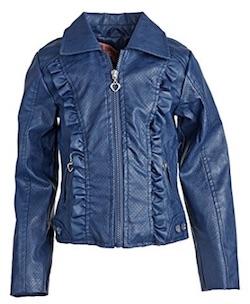 Netflix Stranger Things Eleven Costume for Kids - blue jacket