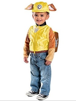 Paw Patrol Rubble Costume for Kids