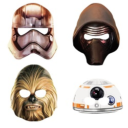 Star Wars Chewbacca Party Supplies - masks