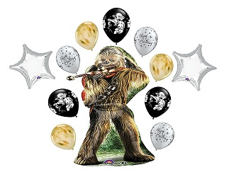Star Wars Chewbacca Party Supplies - balloons