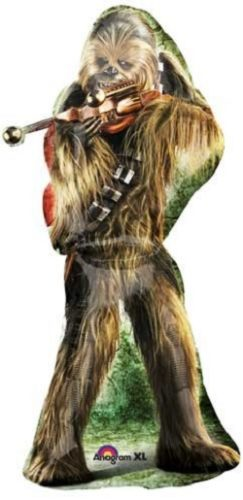 Star Wars Chewbacca Party Supplies - chewbacca shaped balloon