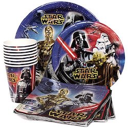 Star Wars Darth Vader Party Decorations Balloons - plates
