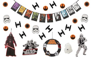 Star Wars Darth Vader Party Decorations Balloons -decor set