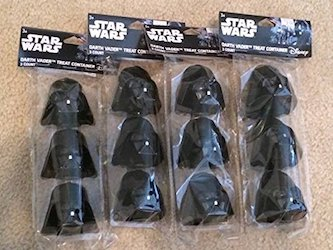 Star Wars Darth Vader Party Decorations Balloons - treat containers