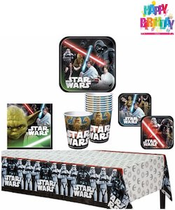 Star Wars Darth Vader Party Decorations Balloons - party set