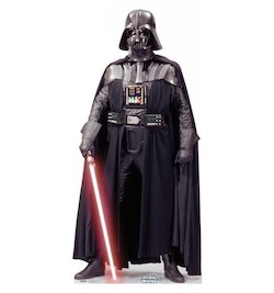 Star Wars Darth Vader Party Decorations Balloons - cardboard cutout