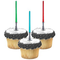 Star Wars Darth Vader Party Decorations Balloons - cupcake topper