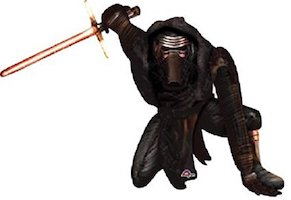 Star Wars Kylo Ren Party Supplies - balloon