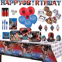 Star Wars Kylo Ren Party Supplies - compelte party set