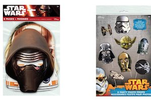Star Wars Kylo Ren Party Supplies - masks