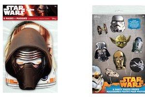 Star Wars Kylo Ren Party Supplies - masks