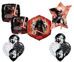 Star Wars Kylo Ren Party Supplies - decorating set