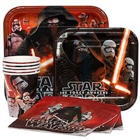 Star Wars Kylo Ren Party Supplies - party pack
