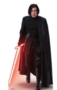 Star Wars Kylo Ren Party Supplies - cardboard standup