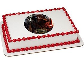 EStar Wars Kylo Ren Party Supplies - cake topper