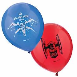 Star Wars Party Balloons - xwing fighters