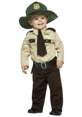 Stranger Things Jim Hopper Costume for kids