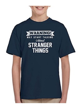Netflix Stranger Things Dustin Costume - tshirt