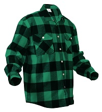 Ready Player One Parzival Costume - Green plaid shirt