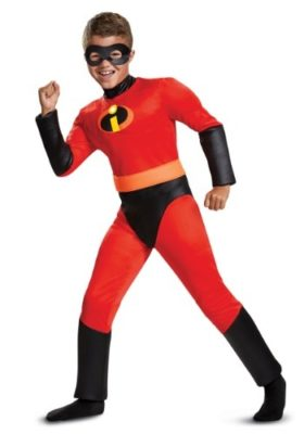 Dash Incredibles Muscle Boys Costume