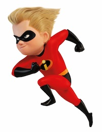Dash Incredibles Costume for Boys