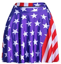 Liberty Belle Debbie's American Flag Skirt