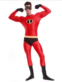 Mr. Incredible Spandex Costume Bob Parr