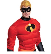 Mr. Incredible Costume Wig Bob Parr