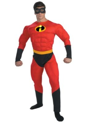 Mr. Incredible Muscle Costume