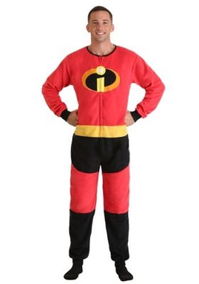 Adult Incredibles Mr. Incredible Jumpsuit