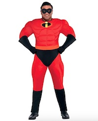 Mr. Incredible Muscle Halloween Costume for Men