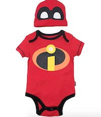 Jack Jack Incredibles Costume Onesie for Babies