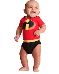 Incredibles Jack Jack Baby Onesie