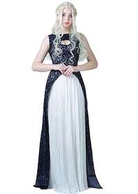 GOT - Khaleesi Daenerys Dress Cosplay Costume