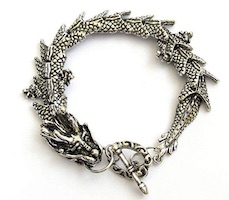 Khaleesi Metal Dragon Bracelet