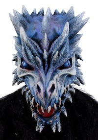 Game of Thrones Viserion Ice Dragon Adult Mask Costume