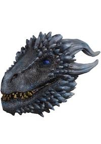 Game of Thrones White walker Viserion Ice Dragon Mask Costume