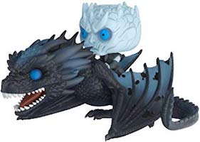Funko Pop - Game of Thrones Night King on Viserion Ice Dragon