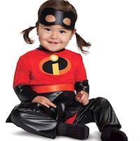 Baby Girls' Incredibles 2 Violet Classic Costume