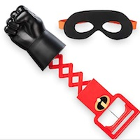 Incredibles 2 Elasti-Arm and Mask