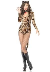Sexy Kim Kardashian Leopard Costume