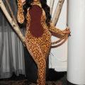 Celebrity Costume Kim Kardashian Leopard Costume