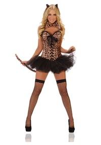 Deluxe Sexy Kim Kardashian Leopard Costume