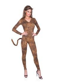 Wild Sexy Kim Kardashian Leopard Costume