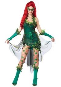Kim Kardashian Poison Ivy Sexy Costume