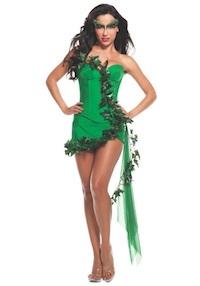 Sexy Kim Kardashian Poison Ivy Costume