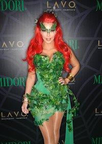 Celebrity Costume Kim Kardashian Poison Ivy Costume