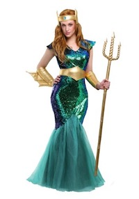Kim Kardashian Sexy Mermaid Costume