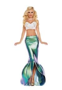 Kim Kardashian Sexy Mermaid Costume