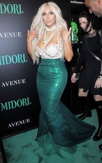Celebrity Kim Kardashian Sexy Mermaid Costume